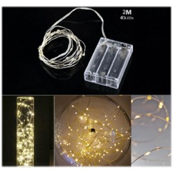 Gold Wire lights 40led