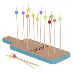 Tapasset 24x8cm i bambu