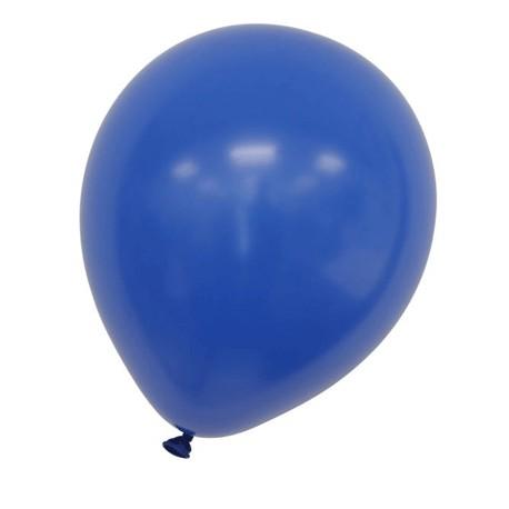 100pk blå ballonger passar även för helium Ø30cm 95cm