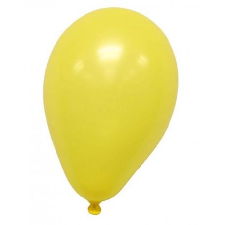 100pk gula ballonger passar även för helium Ø30cm 95cm