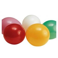 100pk mixade färger passar även för helium Ø30cm 95cm