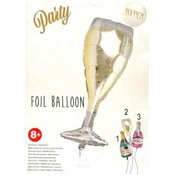 Folie ballong champagne 44x99cm