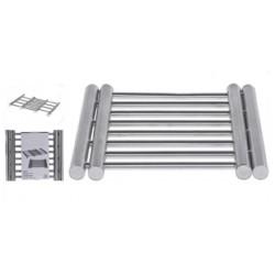 Karottunderlägg i stål 22X20X2CM