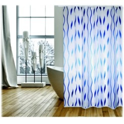Duschdraperi 180x200cm i polyester seventies