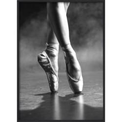 Poster 30x40cm B&W Dancing floor