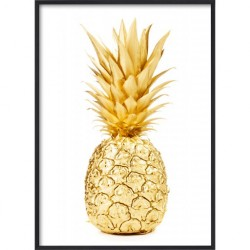 Poster 30x40 Gold Pineapple