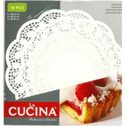 18pk tårtpapper