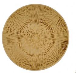 Trä dekorfat Ø39cm