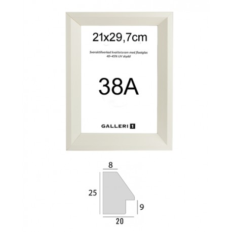 38A 21x29,7cm