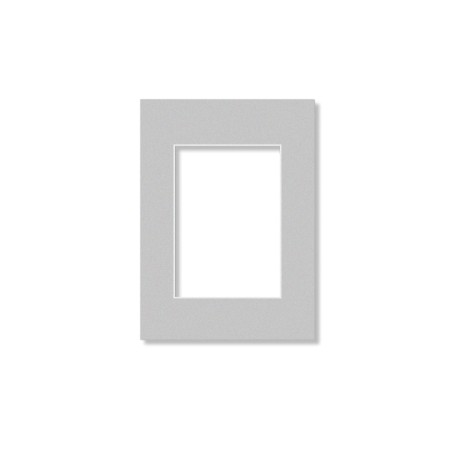 Passepartouter 13x18cm grå