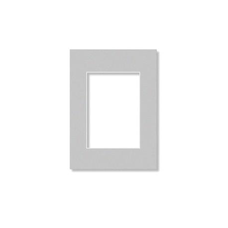 Passepartouter 28x35cm grå