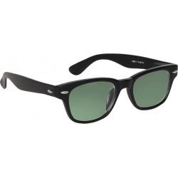 Matt svart Sol/Läsglasögon 4.00 2294-4