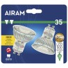 2pk Airam led GU10 35w