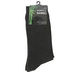 Bambu sockar 40-42 43-45 svarta