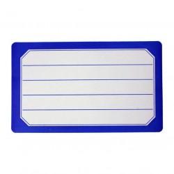 Etiketter 40stk blå
