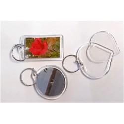 6stk Nyckelringar för foto m.m.