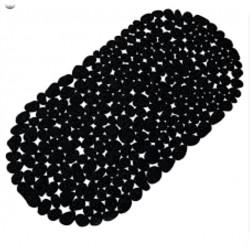 Badkarsmatta 35x68cm pvc svart