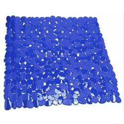Duschmatta 53x53cm pvc stone marin