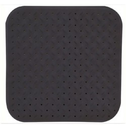 Duschmatta antihalk 54x54cm grå