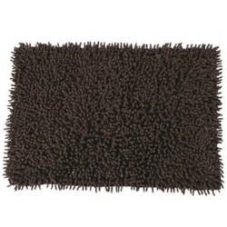 Badrumsmatta 40x60 cm 100% bomull brun