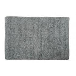 Badrumsmatta 100% bomull 45x70cm grå