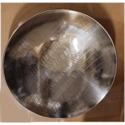 Stor skål i rostfritt på fot Ø36cm