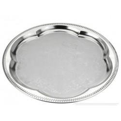 Metallfat i silverutförande Ø35cm