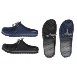 Sandaler 40-45 blå svarta