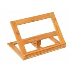 Ställ för kokbokshållare, bambu, 33 x 26,5 x 6 cm