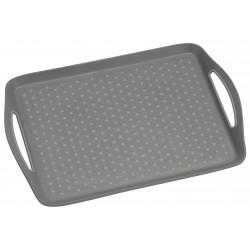 Serveringsbricka antihalk grå 45,5x32x4,5cm