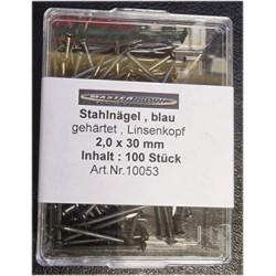 100st stålspik 2,0x30mm