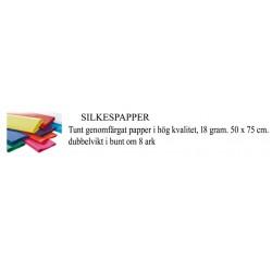 Silkespapper 8 ark 50x70cm